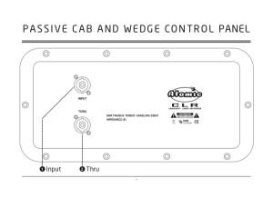 Atomic Amps CLR active cab