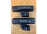 Paire de UA830A Shure Active remote antenne 782-810MHz Amplificateur d'antenne.