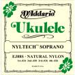 D'addario ukulele nyltech soprano ej88S