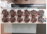 Potards crantés haut de gamme resistor bobinés main 1w 0,5 %