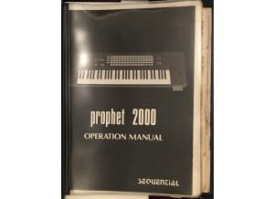 Sequential Circuits Prophet 2000