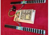 Alimentation avec 2 bus board et 40 connecteurs pour modules eurorack à vendre