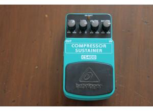 Behringer Compressor Sustainer CS400