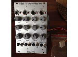 Doepfer A-138p 4-in-2 Performance Mixer