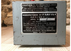 Farfisa Compact Duo MK1 (91243)