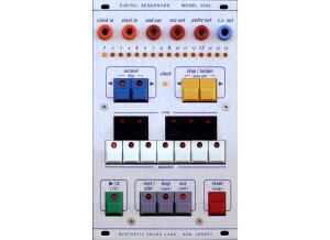 Synthetic Sound Labs Digital Sequencer – Model 3650