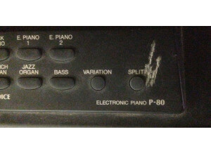 Yamaha P-80