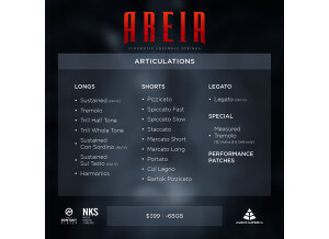 Audio Imperia Areia - Cinematic Ensemble Strings