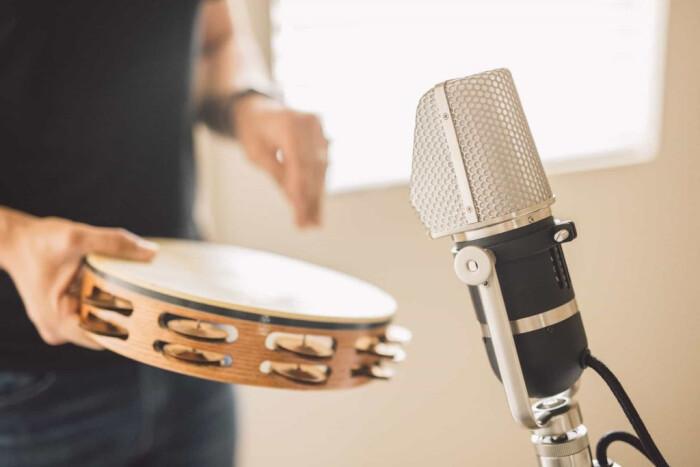 Enregistrement 159 Tambourine