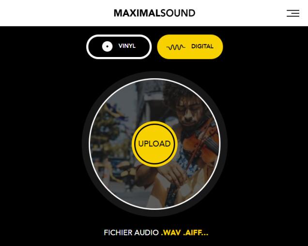 MaximalSound : site2020mobileFR