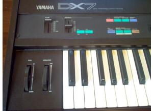 Yamaha DX7 panel left