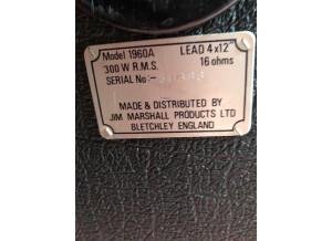 Marshall 1960A JCM800 Lead (84783)