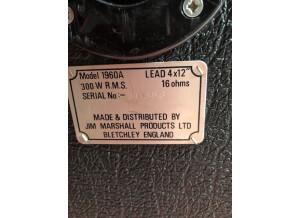 Marshall 1960A JCM800 Lead (70601)