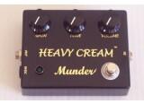 Marque Munder Pédale Heavy Cream Professionnal (Overdrive)