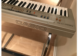 Exceptionally preserved Casiotone CT-310 with stand and pedal