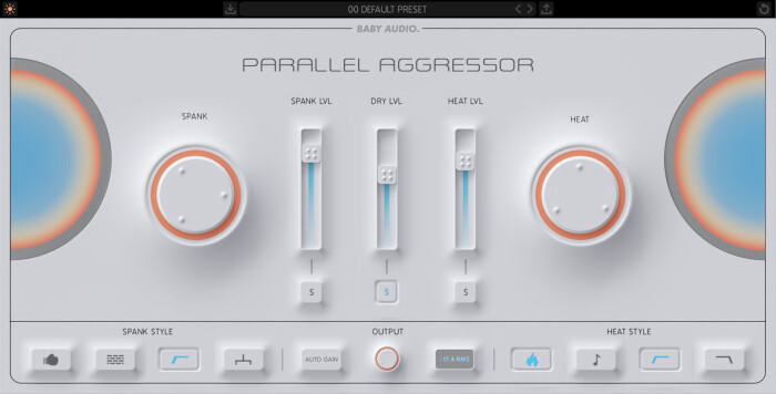 Parallel Aggressor Interface - BABY Audio - Light