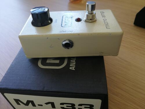 MXR M133 Micro Amp (69751)