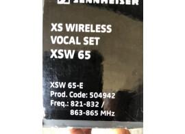 Vends micros complet Sennheiser XSW 65 E