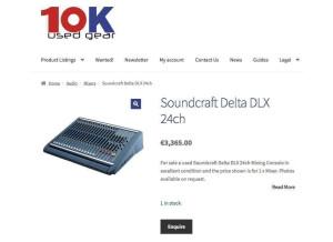 Soundcraft Delta DLX
