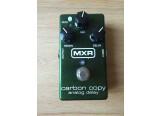 Vend Delay analogique MXR M169 Carbon Copy