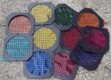 Cadres filtre gel couleur pour spot PAR 56, à l'unité ou en lot. Excellent état