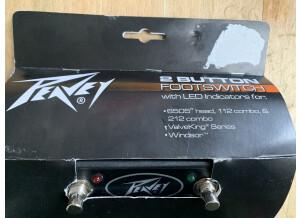 Peavey FS2 Footswitch w/ Led - ValveKing/Windsor