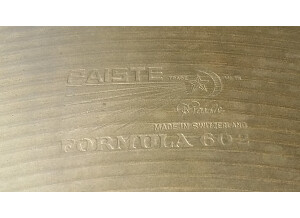 "Paiste Formula 602 Heavy 24"""