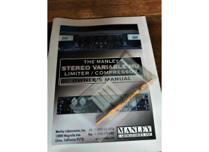 Manley Labs Stereo Variable Mu (72573)