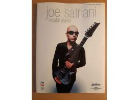 "Livre partitions Joe Satriani ""Crystal planet"""