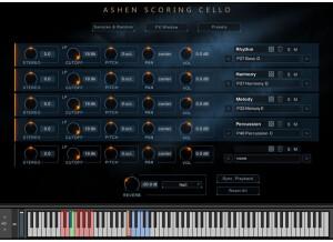 Wavelet Audio Ashen Scoring Cello