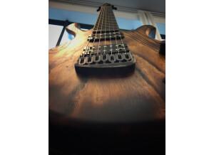 PMC GUITARS Blast 7 strings Shou Sugi Ban