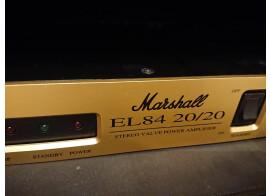 vends ampli de puissance stéréo à tube MARSHALL EL84 20/20