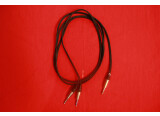 Vends 8 câbles Cordial Jack 2 TS / Jack TRS - 3m