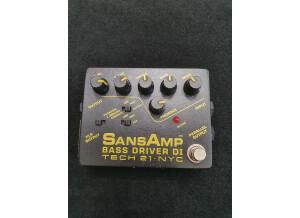 Tech 21 SansAmp Bass Driver DI