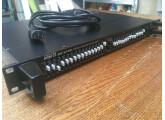 Table de mixage rackable MONACOR 10 entrées PA 1412 MX, très bon état