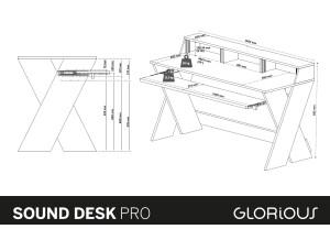 Glorious DJ Sound Desk Pro