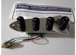 Sadowsky Onboard Preamp Assembly