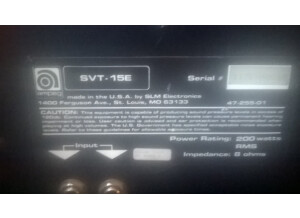 Ampeg SVT-15E