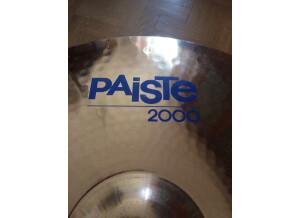 "Paiste 2000 Sound Reflections Ride 20"""