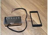 Vends humbucker Seymour Duncan TB4 avec capot chrome et contour noir