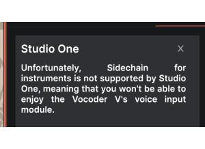 studioonepascompatible