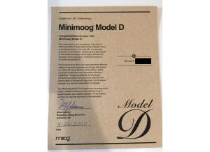 Moog Music Minimoog Model D (2016) (42935)