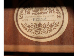 Hondo H 124 ENM