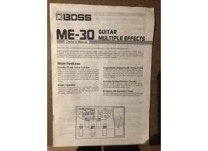 Boss ME-30