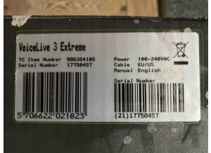 TC-Helicon VoiceLive 3 Extreme (33564)