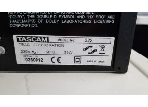Tascam 322