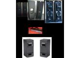 Sono Pro Bose Panaray 402 ultra polyvalentes (Club, discothèque, bar, restaurants, théâtre, chichas, conférences, discours, réu