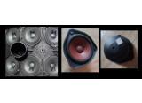 Hauts parleurs Bose pour enceintes Bose 802 / 502 / 402, comme neufs ou occasion.  - Pas de son, plusieurs dispos. Prix : 5 eur