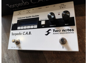 Two Notes Audio Engineering Torpedo C.A.B. (Cabinets in A Box) (70950)