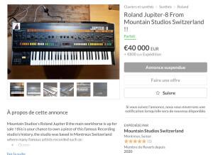 Roland Jupiter-8 (40099)